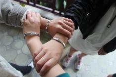 教育局公益少年團屯門區委員會主辦2016-17年度「實踐公益樂助人 團結和諧愛我家」攝影比賽活動相片