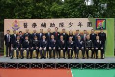 醫療輔助隊少年團「新界西地域屯門中隊訓練場地啟動禮」活動相片