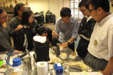 咖啡冲調及拉花製作班活動相片