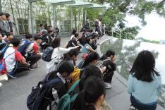 文學散步-香港中文大學活動相片