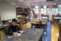親子皮革製作班活動相片