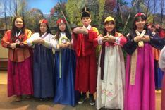 韓國藝術飲食文化考察交流團活動相片