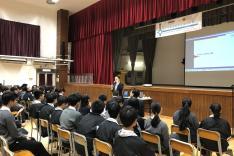 「青少年新思維職業導向計劃」–職業講座活動相片