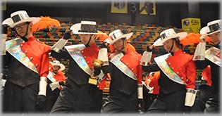 步操樂團於香港步操樂團公開賽2015相片